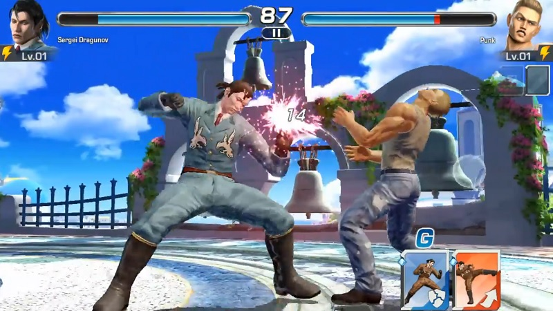 Tekken mobile на компьютер