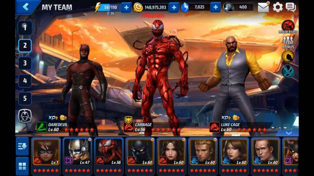 Marvel Future Fight на компьютер