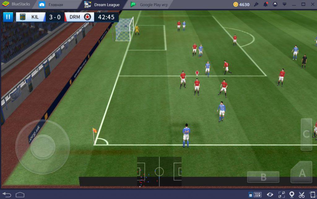 Dream League Soccer на ПК