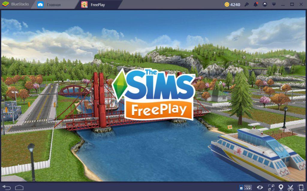 sims freeplay на компьютер