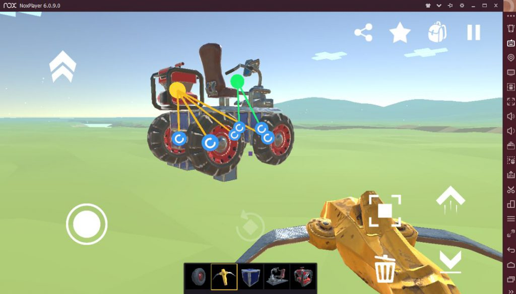 построить машину Evertech Sandbox