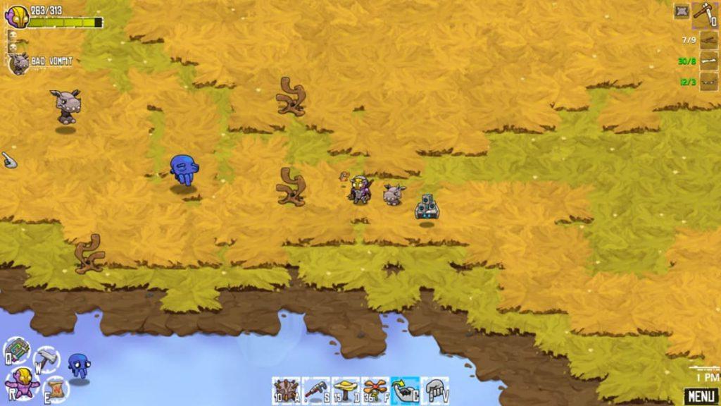 Crashlands на компьютер