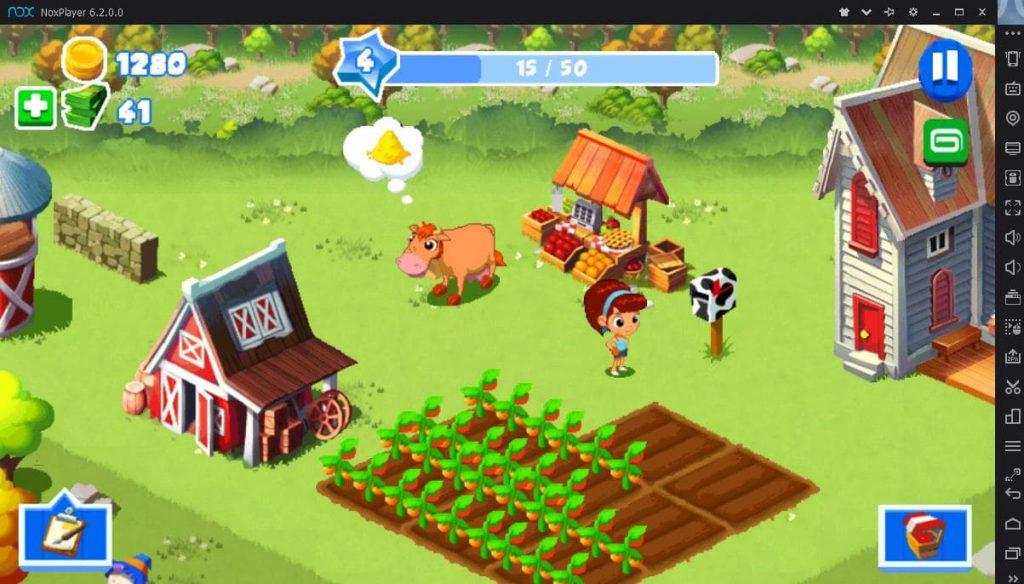 Зеленая Ферма на ПК