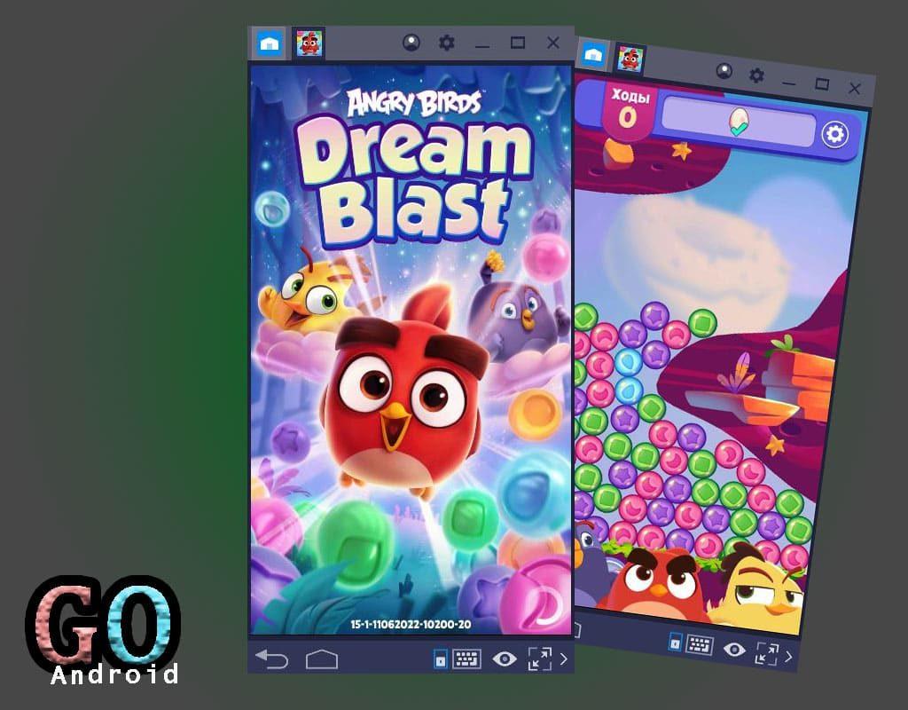 Angry Birds Dream Blast на ПК