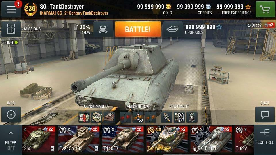 Скачать World of Tanks Blitz на компьютер