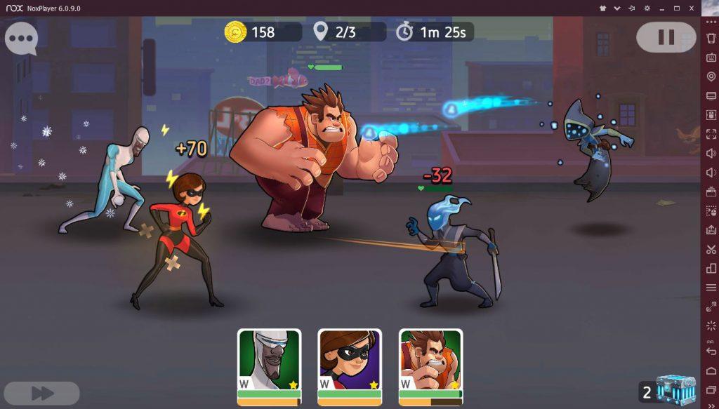 Disney Heroes Battle Mode на ПК