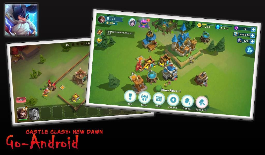 Castle Clash New Dawn