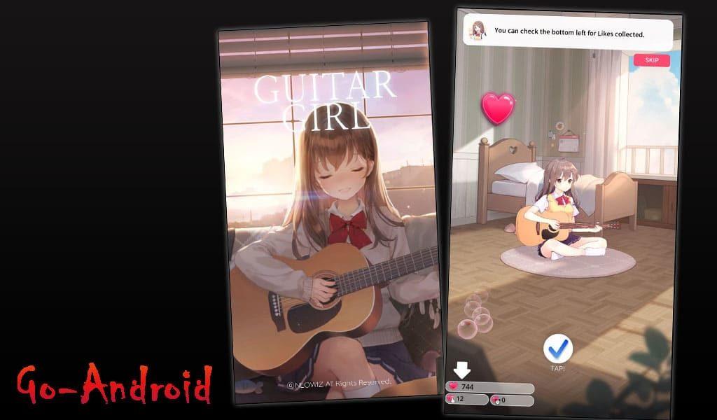 Guitar Girl Relaxing Music Game